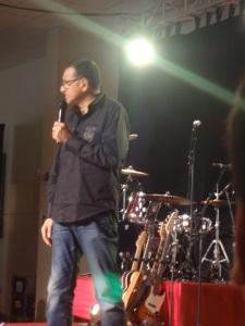 Pastor Manuel at CdV Mia Flores