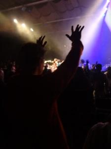 Pastor Christian feeling the Holy Spirit
