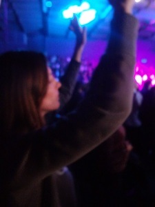 My girlfriend Mimi worshiping at CdV main.