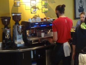 AWESOME barista!