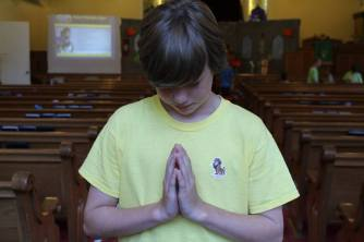 Matt praying