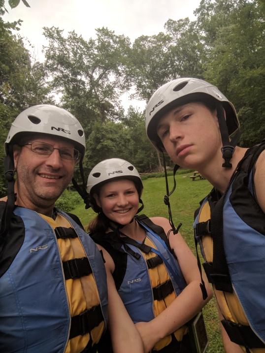 Kenzi Matt Fred Rafting 2017