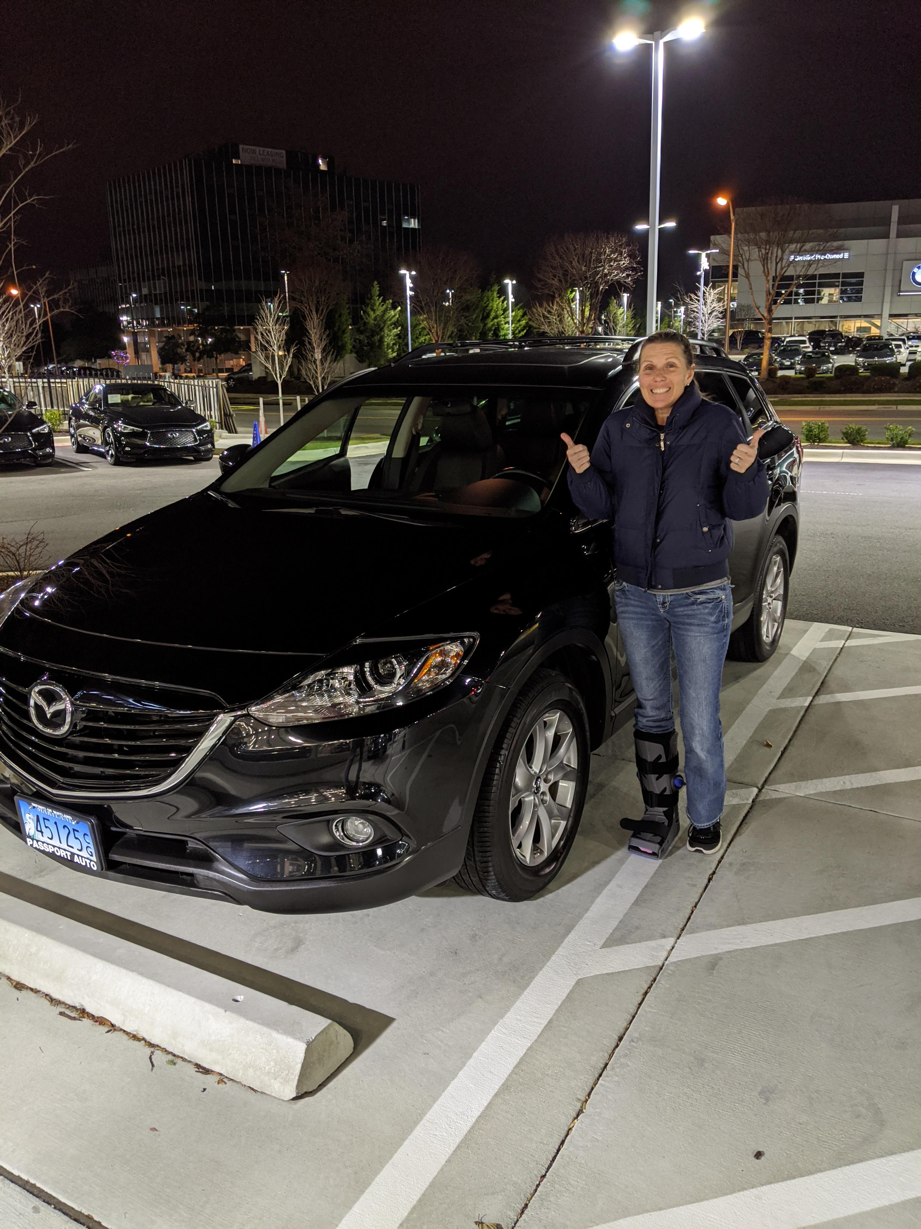Mimi new to us car 2019