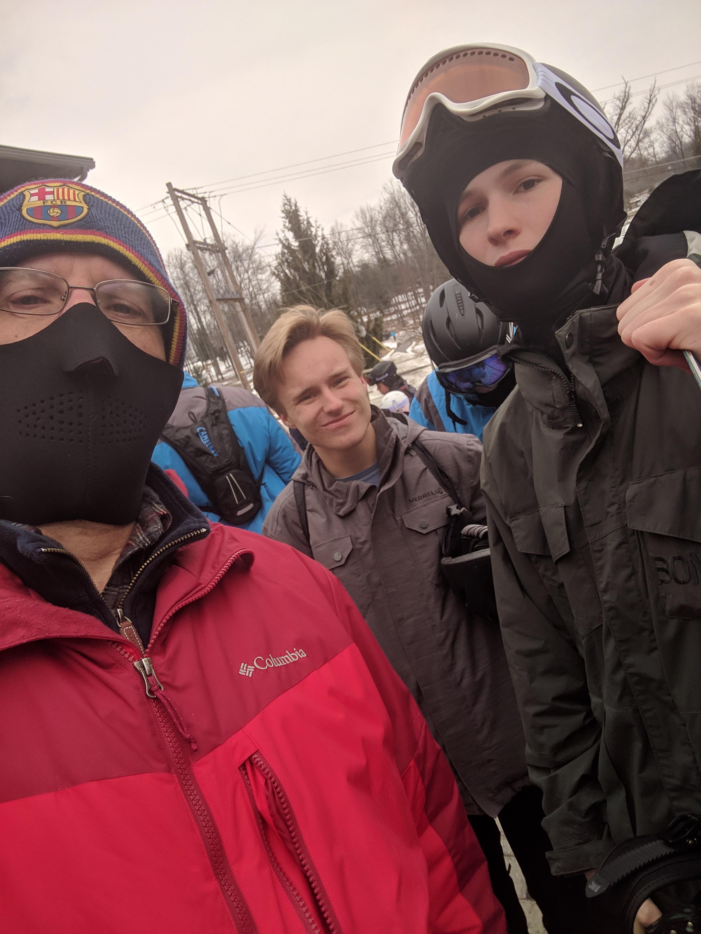Skiing with Matt 2019